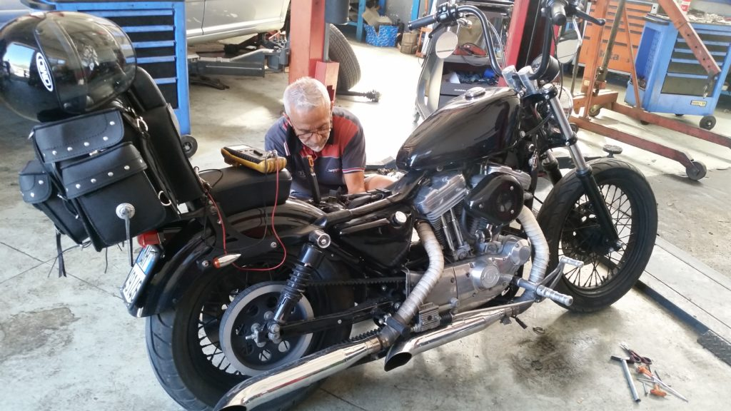 Riparazione Harley Davidson