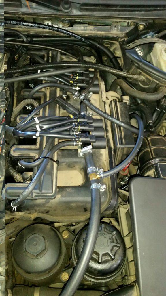 Impianto a gas: installazione iniezione