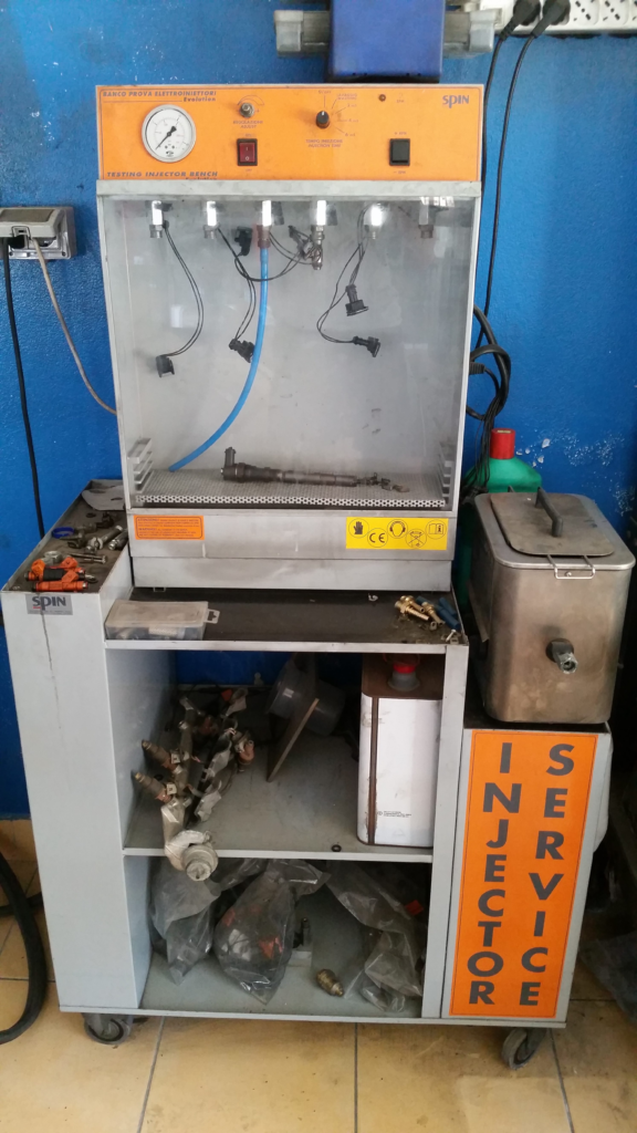 Taratura iniettori diesel