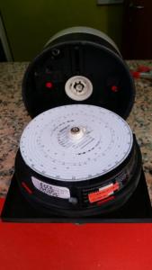 Tachigrafo durante certificazione